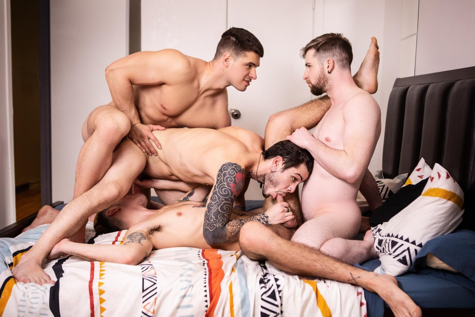 Foursome porn pics Malik Delgaty Gay Foursome Porn Gay Porn Pics