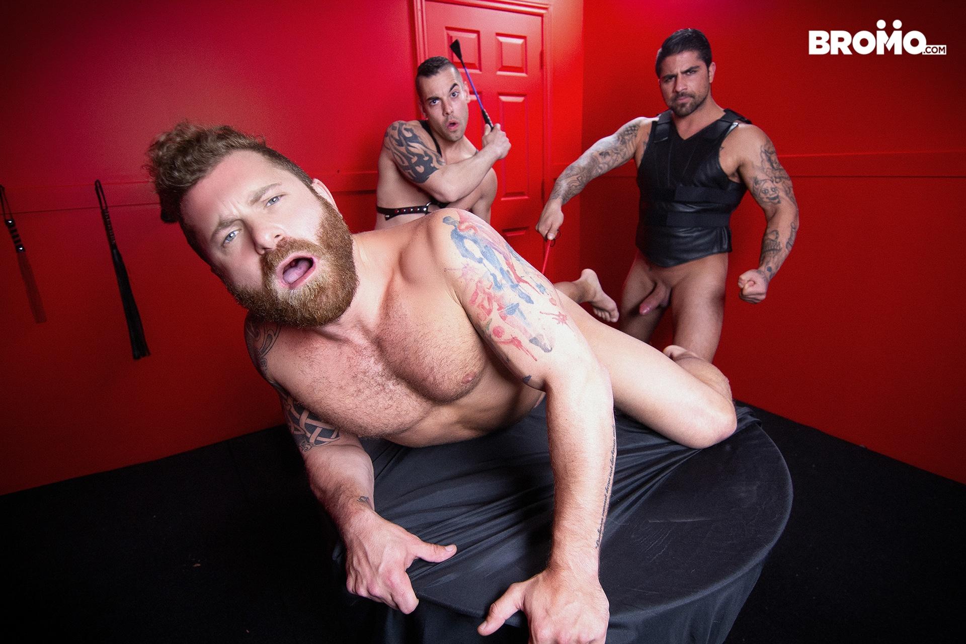 Ryan Bones threesome gay porn